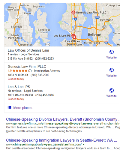 Search for Chinese Divorce Attorney Seattle