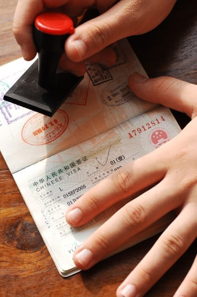International Divorce - Stamping Visa