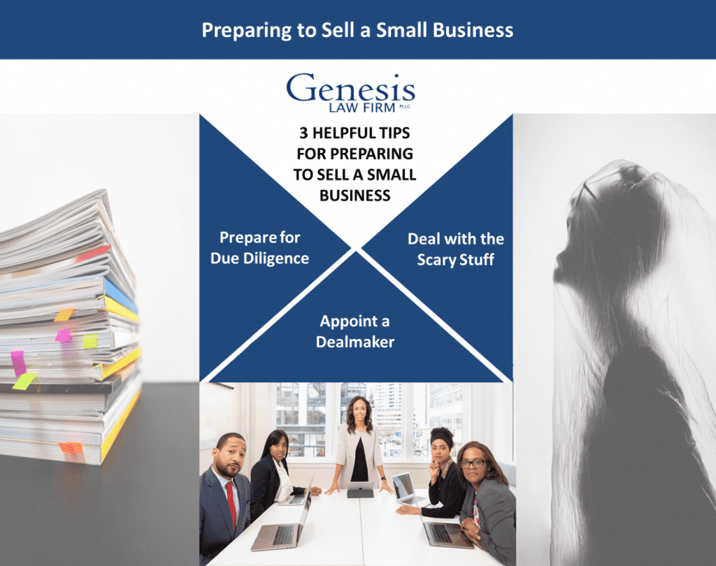 Picture depicting how to sell a small business: three helpful tips