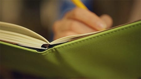 Picture of Someone Keeping a Journal